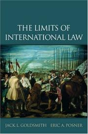 Cover of: The Limits of International Law