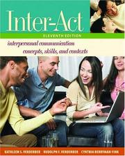 Cover of: Inter-Act