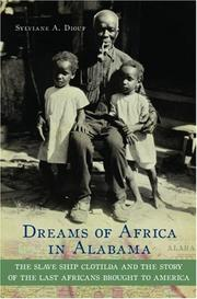 Cover of: Dreams of Africa in Alabama