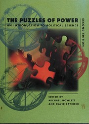 Cover of: The puzzles of power