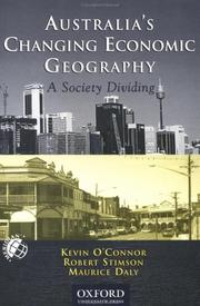Cover of: Australia's Changing Economic Geography