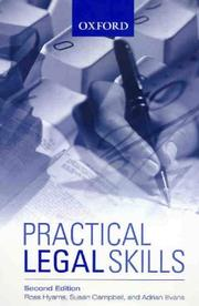 Cover of: Practical Legal Skills