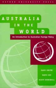 Cover of: Australia in the World