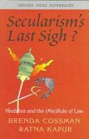 Cover of: Secularism's Last Sigh?
