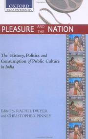 Cover of: Pleasure and the nation