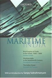 Cover of: Maritime India: The Indian Ocean