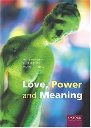 Cover of: Love, Power and Meaning