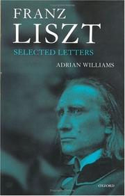 Cover of: Franz Liszt