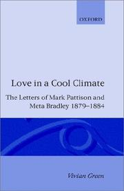 Cover of: Love in a Cool Climate