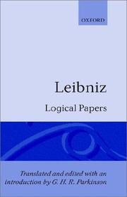 Cover of: Logical Papers