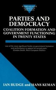 Cover of: Parties and Democracy