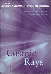 Cover of: Cosmic rays