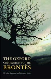 Cover of: The Oxford Companion to the Brontes (Oxford Companion To...)