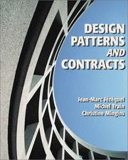 Cover of: Design Patterns and Contracts