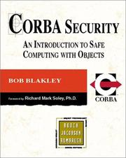 Cover of: CORBA Security