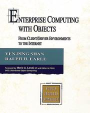 Cover of: Enterprise Computing With Objects