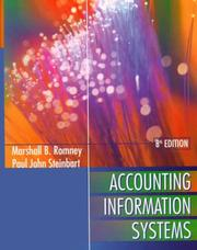 Cover of: Accounting Information Systems