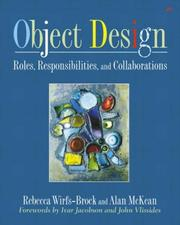 Cover of: Object Design