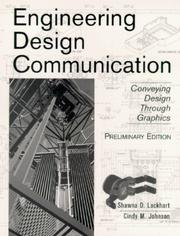 Cover of: Engineering Design Communication, Preliminary Edition