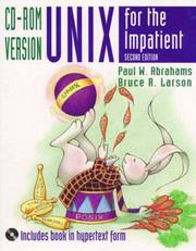Cover of: Unix for the Impatient, CD-ROM Version (2nd Edition)