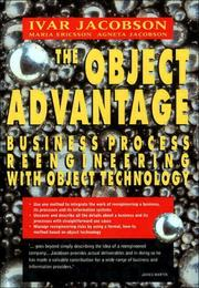 Cover of: The Object Advantage