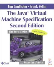 Cover of: The Java(TM) Virtual Machine Specification (2nd Edition)