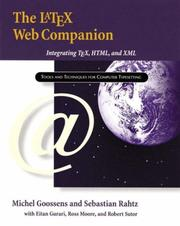 Cover of: The LaTeX Web Companion