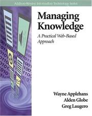 Cover of: Managing Knowledge
