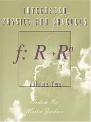 Cover of: Integrated Physics and Calculus, Volume 2