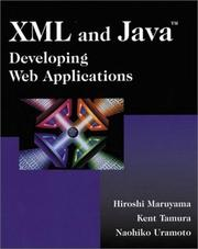 Cover of: XML and Java