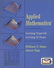 Cover of: Applied Mathematica