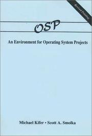 Cover of: OSP