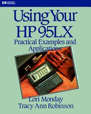 Cover of: Using Your HP 95LX (Hewlett-Packard Press)