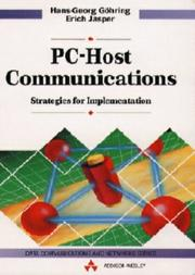 Cover of: Pc-Host Communications