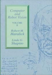Cover of: Computer and Robot Vision (Volume II)