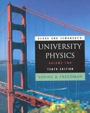 Cover of: University Physics, Volume 2 (10th Edition)