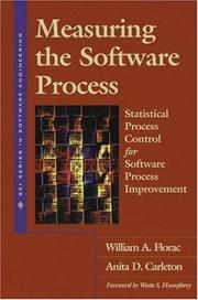 Cover of: Measuring the Software Process