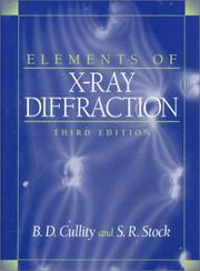 Cover of: Elements of X-Ray Diffraction (3rd Edition)