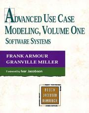 Cover of: Advanced Use Case Modeling