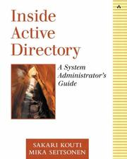 Cover of: Inside Active Directory