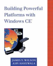 Cover of: Building Powerful Platforms with Windows CE(r)