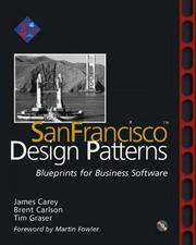 Cover of: SanFrancisco(tm) Design Patterns