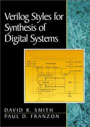 Cover of: Verilog Styles for Synthesis of Digital Systems