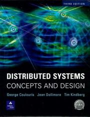 Cover of: Distributed Systems