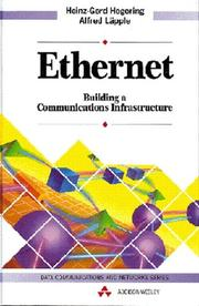 Cover of: Ethernet