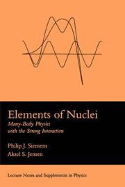 Cover of: Elements Of Nuclei