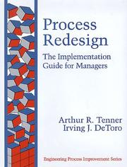 Cover of: Process Redesign