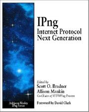 Cover of: Ipng Internet Protocol Next Generation