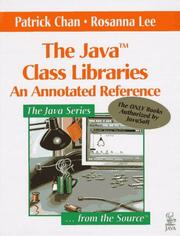 Cover of: The Java Class Libraries