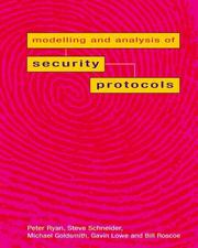 Cover of: Modelling and Analysis of Security Protocols